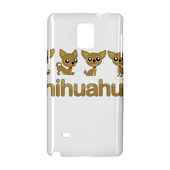 Chihuahua Samsung Galaxy Note 4 Hardshell Case