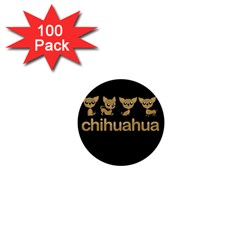 Chihuahua 1  Mini Buttons (100 Pack)