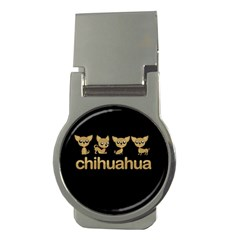 Chihuahua Money Clips (round)