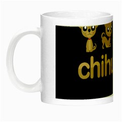 Chihuahua Night Luminous Mugs