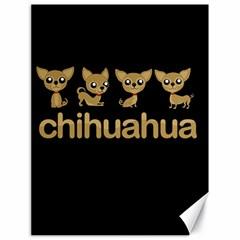 Chihuahua Canvas 18  X 24