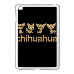 Chihuahua Apple Ipad Mini Case (white)