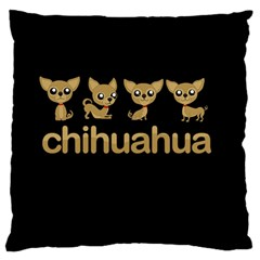 Chihuahua Standard Flano Cushion Case (two Sides)