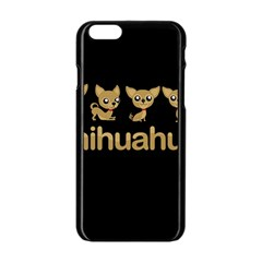 Chihuahua Apple Iphone 6/6s Black Enamel Case