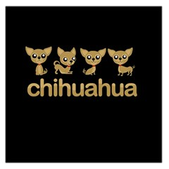 Chihuahua Large Satin Scarf (square)