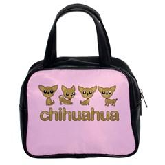 Chihuahua Classic Handbags (2 Sides)