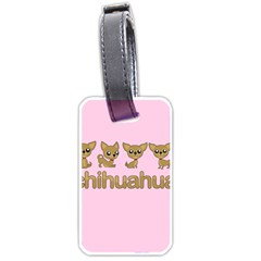 Chihuahua Luggage Tags (two Sides)