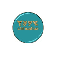 Chihuahua Hat Clip Ball Marker (4 Pack)