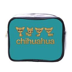 Chihuahua Mini Toiletries Bags