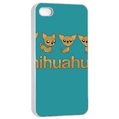 Chihuahua Apple Iphone 4/4s Seamless Case (white)
