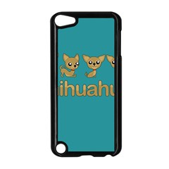 Chihuahua Apple Ipod Touch 5 Case (black)
