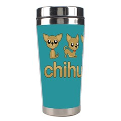 Chihuahua Stainless Steel Travel Tumblers