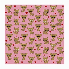 Chihuahua Pattern Medium Glasses Cloth (2 Side)