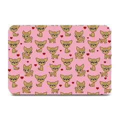Chihuahua Pattern Plate Mats