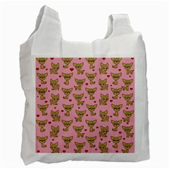 Chihuahua Pattern Recycle Bag (one Side)