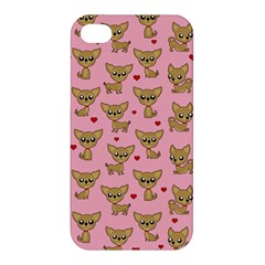 Chihuahua Pattern Apple Iphone 4/4s Premium Hardshell Case