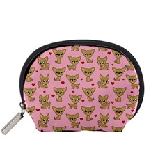 Chihuahua Pattern Accessory Pouches (small)