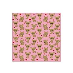 Chihuahua Pattern Satin Bandana Scarf