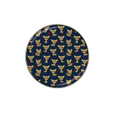Chihuahua Pattern Hat Clip Ball Marker