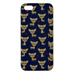 Chihuahua Pattern Iphone 5s/ Se Premium Hardshell Case
