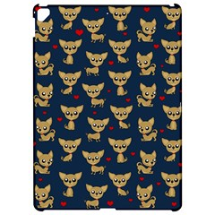 Chihuahua Pattern Apple Ipad Pro 12 9   Hardshell Case