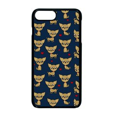 Chihuahua Pattern Apple Iphone 7 Plus Seamless Case (black)