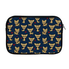 Chihuahua Pattern Apple Macbook Pro 17  Zipper Case