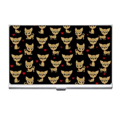 Chihuahua Pattern Business Card Holders