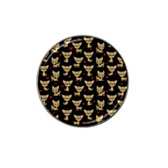 Chihuahua Pattern Hat Clip Ball Marker (10 Pack)