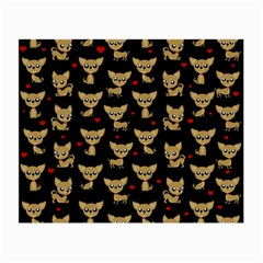 Chihuahua Pattern Small Glasses Cloth
