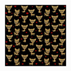 Chihuahua Pattern Medium Glasses Cloth