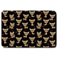Chihuahua Pattern Large Doormat