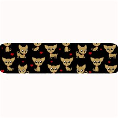 Chihuahua Pattern Large Bar Mats