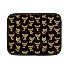 Chihuahua Pattern Netbook Case (small)