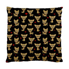 Chihuahua Pattern Standard Cushion Case (two Sides)