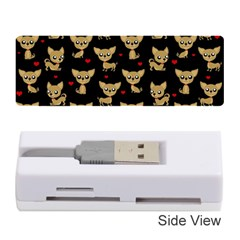 Chihuahua Pattern Memory Card Reader (stick)