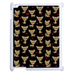 Chihuahua Pattern Apple Ipad 2 Case (white)
