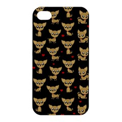 Chihuahua Pattern Apple Iphone 4/4s Hardshell Case