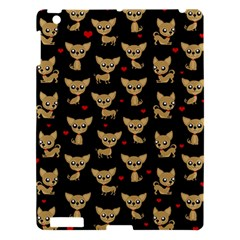 Chihuahua Pattern Apple Ipad 3/4 Hardshell Case