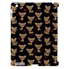Chihuahua Pattern Apple Ipad 3/4 Hardshell Case (compatible With Smart Cover)