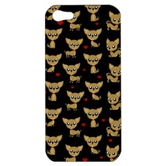 Chihuahua Pattern Apple Iphone 5 Hardshell Case