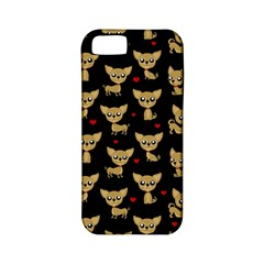 Chihuahua Pattern Apple Iphone 5 Classic Hardshell Case (pc+silicone)