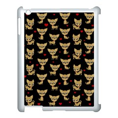 Chihuahua Pattern Apple Ipad 3/4 Case (white)