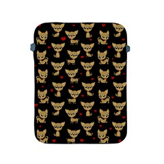 Chihuahua Pattern Apple Ipad 2/3/4 Protective Soft Cases