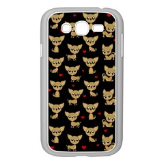 Chihuahua Pattern Samsung Galaxy Grand Duos I9082 Case (white)
