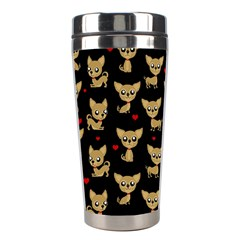 Chihuahua Pattern Stainless Steel Travel Tumblers