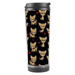 Chihuahua Pattern Travel Tumbler