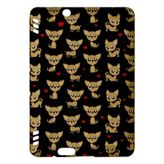 Chihuahua Pattern Kindle Fire Hdx Hardshell Case