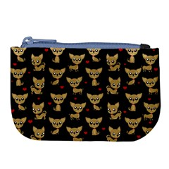 Chihuahua Pattern Large Coin Purse