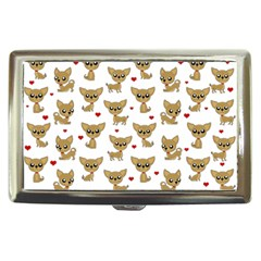 Chihuahua Pattern Cigarette Money Cases